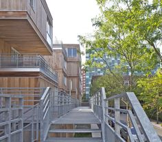 Housing Construction | Tania Concko | Architects Urbanists  EURALILLE 2 - LOT 1B Photograph © Philippe Ruault