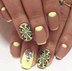 Hey there lovers of nail art! In this post we are going to share with you some Magnificent Nail Art Designs that are going to catch your eye and that you will want to copy for sure. Nail art is gaining more… Read Beautiful Nail Designs, Beautiful Nail Art, Gorgeous Nails, Nail Art Designs 2016, Acrylic Nail Designs, Acrylic Nails, Jolie Nail Art, Nailart, Latest Nail Art