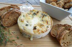 Camembert uit de oven met tijm
