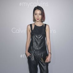 Irene Kim at a Calvin Klein Jeans event in Hong Kong, June 2015. Photo by Getty Images.-Wmag