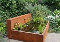 Waterbak Cortenstaal 200x50 H=40 - XIDIT - Leverancier, maker en ontwikkelaar van producten voor de hovenier en tuinarchitect