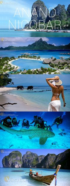 The Andaman & Nicobar Islands are unique. It is unlike any other place in India. Travel And Tourism, India Travel, Vacation Destinations, Vacation Spots, Places To Travel, Places To See, Travel Goals, Travel Plan, Andaman And Nicobar Islands