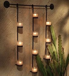 Candle Wall Sconces idea para entrada o pasillo