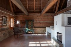Image 41 of 56 from gallery of Two Houses, Deers and Trees / Lenka Míková. Photograph by Jakub Skokan, Martin Tůma / BoysPlayNice Vernacular Architecture, Design Process, Countryside, Old Things, The Originals, Gallery, Building, Home Decor, Trees