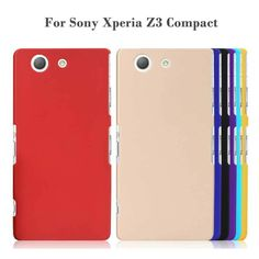 Mode frosted matte kunststoff hard sfor sony xperia z3 compact case für sony xperia z3 compact z3 mini handy case abdeckung