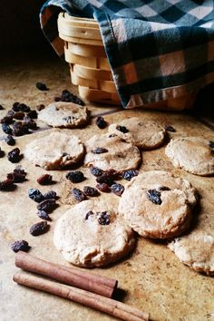 Cinnamon and raisins add a delicious twist to these soft, chewy peanut ...
