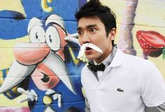 Siwon is the new Caption Crunch!!! : )