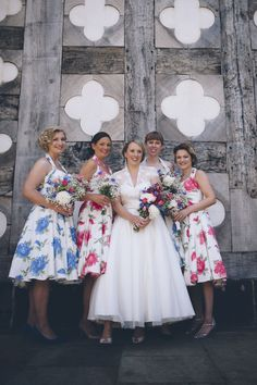 45 Trendy Ideas For Wedding Dresses Classic Vintage 50s Wedding, Rockabilly Wedding, Classic Wedding Dress, Best Wedding Dresses, Wedding Bridesmaids, Floral Wedding, Party Wedding, Trendy Wedding, Garden Wedding