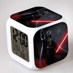27 Choose sveglia Children Gift Boys Alarm Clock Despertador Digital Star War Vader Figures infantile Stromtrooper Reloj Reveil