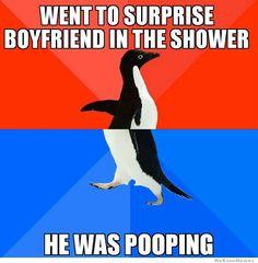 Went To Surprise Boyfriend In The Shower…