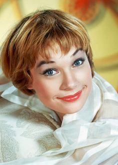 Shirley MacLaine, 1956. ( She farts in public. She stood next to me at an airport , well it was LAX, & we both were looking at magazines to take on the plane. I didn't know I was next to Shirley McClaine until I looked up to see who had just done, IN PURLBIC, the LONGEST, squeakiest balloon emission, of unending gaseous realease ... sonically sordid frickin' FAME Fart. GROSS !!!!!!!!!