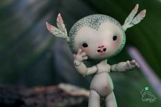 Tit'herbe Grass green - Nympheas Dolls BJD