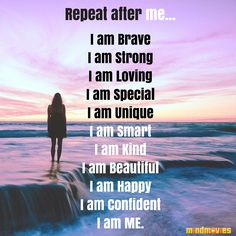 Positive Affirmations from Mind Movies #courage #affirmations