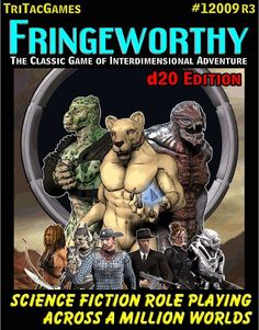Fringeworthy, the original RPG of Interdimensional exploration, returns to print in this new edition. Nearly 200 pages of new information, scenarios, friend Science Fiction, Adventure, The Originals, Games, Classic, Aliens, Cover, Image, Rpg