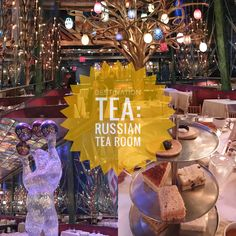 NYC's Russian Tea Room is a fairytale wonderland where you should dress like royalty for your Royal Afternoon Tea