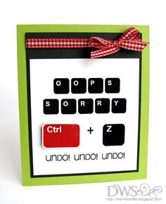 computer card idea