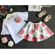 9e8de1acddae1 Mom Girl Floral Prints Summer Set Party Wedding, Wedding Party Dresses, Baby  Girl Dresses