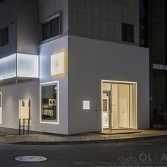 미용실 인테리어 스투디오올라 Small Cafe Design, Shop Front Design, Store Design, Coffee Shop Bar, Coffee Shop Design, Exterior Signage, Interior And Exterior, Interior Design, Residential Architecture