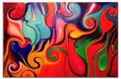 'Lava Lamp' Canvas #Art