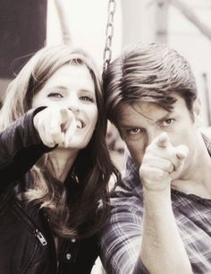 Stana Katic & Nathan Fillion