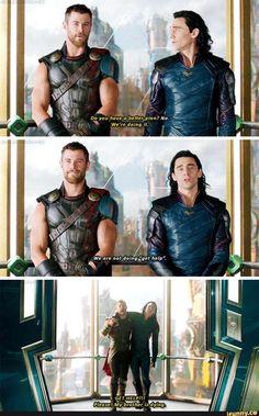 """Thor: Ragnarok—""""Get help"""""""