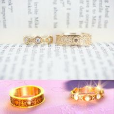 Beautiful Tangled wedding rings  I would love to have these custom made for  myLantern proposal   Tangled   Pinterest   Proposals of Tangled Wedding Ring
