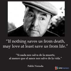 40 years ago, September 23rd 1973, Pablo Neruda, the Chilean poet and Nobel prize winner, passed away.
