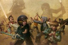 STAR WARS Art From Craig Davison Will Take You Right Back To Childhood | Nerdist