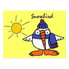 Cartoon snowbirds - Bing images