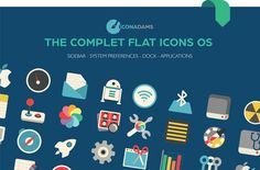Iconadams has a range of icons with the perfect solution to create a fast, clean and organised desktop with a modern and pleasant design. These flat design icons are completely integrated in the last OS . Flat Design Icons, Flat Icons, Icon Design, Web Project, Desktop Organization, Vector Format, Fast Clean, Flats, Range