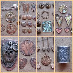 Art Jewelry Elements: My Metal Addiction!