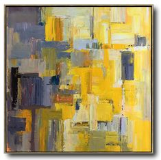 Palette Knife Contemporary Art #L53A #acrylic-painting #Artists_Leo-Chun #Contemporary