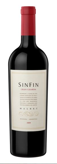 SinFin presents the new vintages of the range SinFin Guarda 2011 and their new labels. Besides, a new varietal wine that has obtained several international awards, the Bonarda, joins the already existing varieties: Malbec, Sauvignon Blanc and Cabernet Sauvignon.    The winery introduces the new edition of its top wine Gran Guarda 2009; an elegant Malbec with a 12 month aging in French oak barrels.