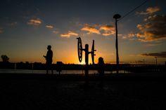 Ao pôr do Sol