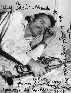 Chet Baker, Let's Get Lost [1988] directed by Bruce Weber