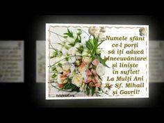 La mulţi ani de Sfinţii Mihail şi Gavril! - YouTube Frame, Youtube, Picture Frame, Frames, Youtubers, Youtube Movies