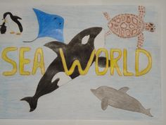 SeaWorld Orlando Facebook fan Cleber J. posted this great drawing.