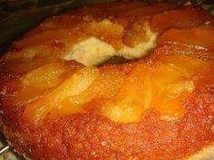 Receta: Torta de manzana invertida  - CocinaChic Quick Recipes, Quick Easy Meals, My Favorite Food, Favorite Recipes, Peruvian Recipes, Pan Bread, Sin Gluten, Gluten Free, Flan