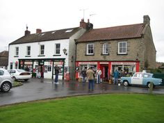 """The Town in Yorkshire that is """"Aidensfield"""" in the TV series """"Heartbeat""""."""