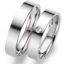 His   Hers Mens Womens Matching White Gold Wedding Bands Rings Set with  Diamond Wide Sizes Free Engraving New d9aa169d988