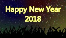 Happy New Year 2018 Gif Animated Image, HD Wallpapers, Photos, Pics, Wishes in English – New Year 2018