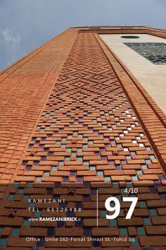 Brick Cladding, Brick Facade, Facade House, Brick Design, Facade Design, Exterior Design, Brick Architecture, Architecture Details, Brick Wall Decor