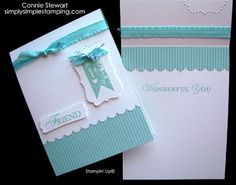 Flash Card - made with just 2 little pieces of cardstock and a card base.  There is a video series on how to create Flash Cards on the blog!