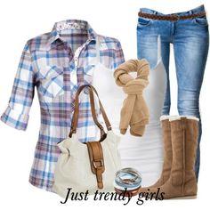 Fashion Plaid Shirts for woman | Just Trendy Girls