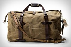 Filson Restored Bags.  A friend turned me on to filson. Such a solid brand that has earthy tones that are right up my alley.