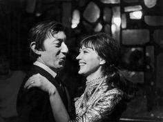 Serge Gainsbourg and Anna Karina, 1966
