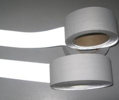 Safety-Bright-Silver-Reflective-TC-Fabric-Sew-On-Tape-Width-2-50mm