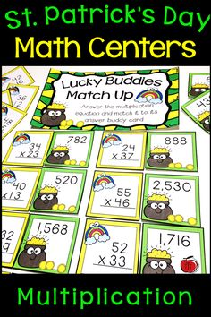 I love changing up my Math centers to match the upcoming holidays. Division Activities, Sorting Activities, Teaching Activities, Hands On Activities, Math Games, Teaching Resources, Teaching Ideas, Homeschooling Resources, 3rd Grade Math