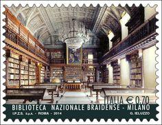 Biblioteca_nazionale_braidense_francobollo