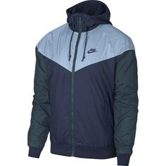 c7f055271c Nike Men s Windrunner Colorblocked Jacket - Blue 2XL